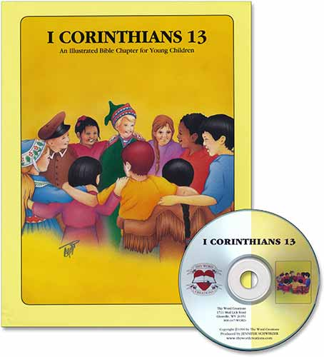 Book and CD for Young Children - 1 Cor 13 [NKJV], Laymen