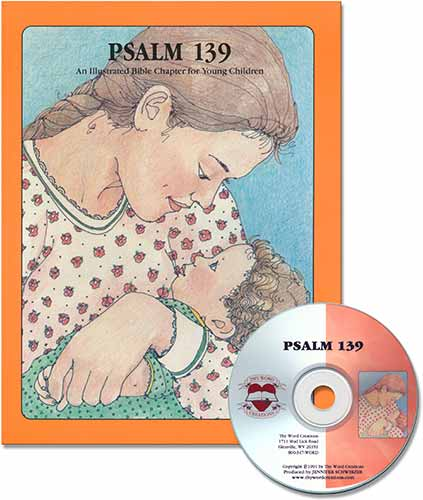 Book and CD for Young Children - Psalm 139 [NKJV], Laymen