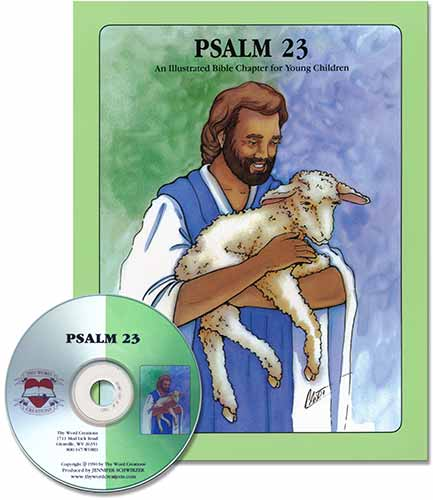 Book and CD for Young Children - Psalm 23 [KJV], Laymen